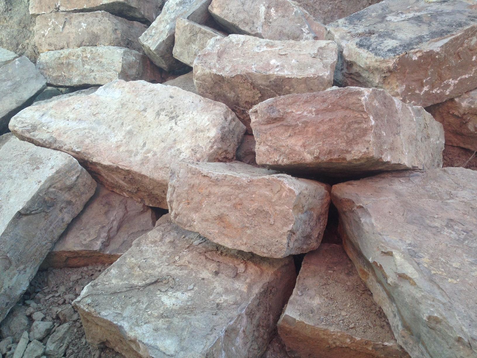 venta de piedras muros pujol